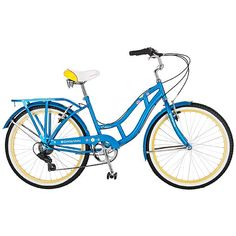 """$170 (maybe more) approx 42 pounds Schwinn 24"""" Girls' Catalina Cruiser Bike with 7 Gears and Cool Retro Details"""