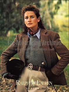 Old Ralph Lauren Adverts Old Ralph Lauren Adverts - Effort and timeless country style<br> Looks Chic, Looks Style, My Style, British Country Style, British Style Outfits, English Country Fashion, Country Style Fashion, Country Style Clothes, Elegantes Outfit Frau