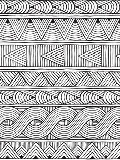 Color mind art çizimler, desenler a çizim Doodle Art Drawing, Zentangle Drawings, Art Drawings, Zentangles, Zen Doodle, Mandala Doodle, Pattern Drawing, Pattern Art, Photo Pattern