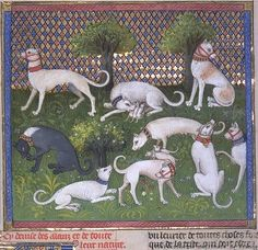 Livre de chasse (The Hunting Book) of Gaston Phoebus, 1379. Image 3