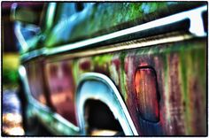 """""""New Paint"""" - This truck in #NewEngland has seen better days #photography #HDR"""