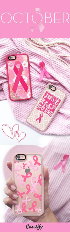 In honor of #BreastCancerAwareness Month 2015, we're donating 30% of proceeds from our PrettyInPink collection to Susan G. Komen. Shop here: http://casetify.com/prettyinpink