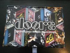 The Doors, The Complete Studio Recordings (7 CDs und 1 Bocklet in einer Box)