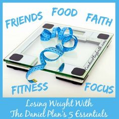 I truly believe any good weight loss program covers far more than food and exercise. It must be a complete lifestyle to be successful. The Daniel Plan is exactly that by relating to body, mind, and soul. There are 5 essential components in this plan: Food, Fitness, Focus, Faith, and Friends. The last two are...Read More »