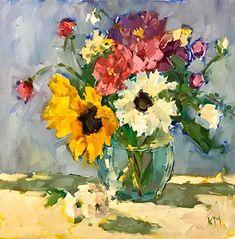 Karen Meredith - Work Zoom: Summer Bouquet