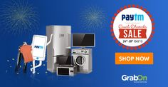 HURRY - #Paytm Diwali Electronics Sale Is Here. Get Upto 10,000 #Cashback & More. http://www.grabon.in/paytm-coupons/  #PaytmKaro