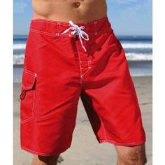 The ultimate boardshort for lifeguards, sporting high-tech fabrics, top-notch manufacturing and cargo pockets designed to accommodate MTS and XTS series Motorola radios and CPR Microshield. Oh, and did we mention the concealed Dive Knife compartment?  Features: Radio Pocket with Velcro closure, lycra fly.  Colors: Red, Navy, Black  Sizes: 20, 22, 24, 26, 28, 30, 32, 34, 36, 38, 40, 42  Regular Price: $44