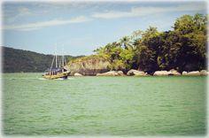 O que é o verde desse mar !!! Paraty-RJ
