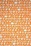 stof oranje krulletje