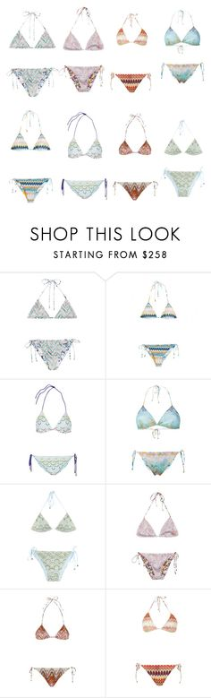 """""""Missoni bikinis"""" by theresewiese on Polyvore featuring Missoni Mare, Missoni, bikinis and theresewiese"""