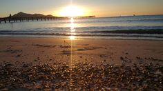 Sunrise Mallorca Alcudia Beach Tops, Four Square, Sunset, Water, Travel, Outdoor, Walls, Majorca, Vacation