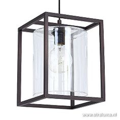 Strak landelijke hanglamp lantaarn bruin Ceiling Lights, Lighting, Pendant, Home Decor, House, Decoration Home, Room Decor, Home, Hang Tags