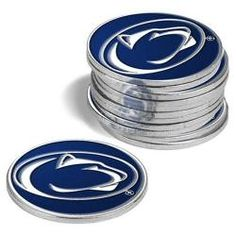 Penn State Nittany Lions 12 Pack Collegiate Ball Markers
