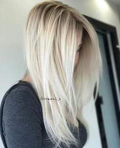 "1,616 Likes, 17 Comments - behindthechair.com (@behindthechair_com) on Instagram: ""* Shadow Blonde ... by @giovannii_s ・・・ Just in love this this tones using @olaplex @embee.meche…"""