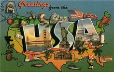 Vintage Collectible United States Postcards - Moodys Collectible Postcards