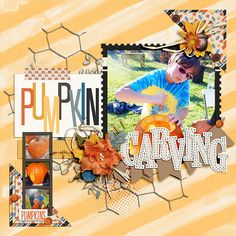 Layout using {Pumpkin Patch} Digital Scrapbook Kit by Dream Big Designs available at Sweet Shoppe Designs http://www.sweetshoppedesigns.com/sweetshoppe/product.php?productid=35186&cat=&page=1 #dreambigdesigns