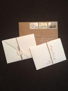 Partecipazioni in carta Amalfi e carta Craft