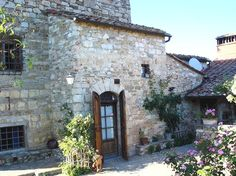Vacation rental accommodations on a Tuscan farm near Greve in Chianti, Tuscany
