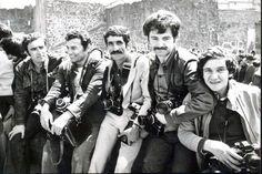 Ergin Konuksever - Sökmen Baykara - Kadir Can - Savaş Ay - Coşkun Aral #Türkiye #Fotomuhabirler #Birzamanlar #istanlook