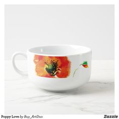 Shop Bowl with poppy - Bloom with us created by Buy_ArtDuo. Paper Napkins, Paper Plates, Black Bowl, Soup Mugs, Kitchen Collection, Cereal Bowls, Kitchen Items, Cold Drinks, Red Flowers