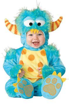 Cute, little monster costume.