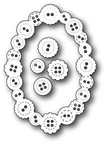 Button Oval Die