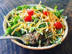 Keto 5-Layer Mexican Dip Bowls You Can Eat with a Fork!!