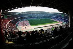 Image 9 Nissan Stadium, Airplane View, Gate, Clouds, Travel, Viajes, Trips, Tourism, Gates
