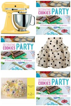 Decorating Cookies Party! It's Here! (plus a giveaway)