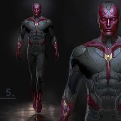 Here is an early Vision design! #vision #thevision #avengersassemble #avengersageofultron #avengers #ryanmeinerding #beholdthevision #avengerscomics