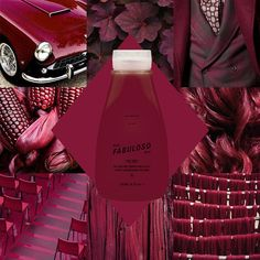 Evo fabuloso pro salon - 10g red + 10g violet retail - 230ml retail conditioner + 20g red + 20g violet