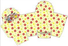Turma da Mônica - Kit Completo com molduras para convites, rótulos para guloseimas, lembrancinhas e imagens! Candyland, Peppa Pig Princesa, Guppies, Piglet, Oh My Fiesta, Printable Box, Bee Party, Free Boxes, 3d Paper