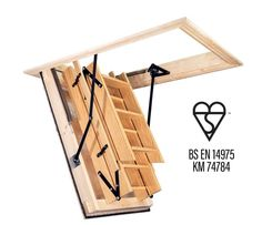 Best 42 Best Wooden Timber Loft Ladders Images In 2019 400 x 300