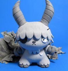 "Greyscale Monster Custom 3"" Dunny"