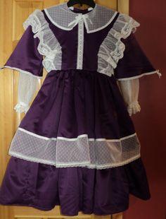 Girl's Regal Civil War/Victorian Day dress by HeritageDressmakers