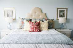 Beautiful bedroom colors via 6th Street Design School!