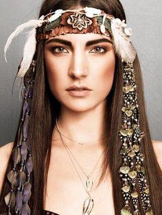 boho - ☮k☮- Headband
