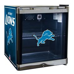 Detroit Lions Refrigerated Beverage Center
