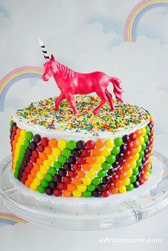 Unicorn birthday cake. My birthday cake this coming year... atleast it better be