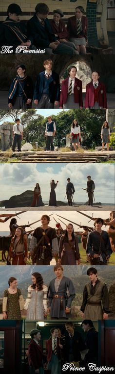 The Pevensies in The Chronicles of Narnia: Prince Caspian Edmund Narnia, Narnia Cast, Narnia 3, Edmund Pevensie, Lucy Pevensie, Narnia Prince Caspian, Narnia Movies, Chronicles Of Narnia, Cs Lewis