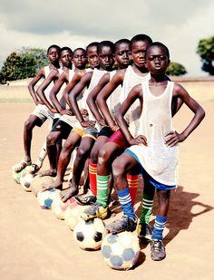 Multiple award-winning Ivory Coast United. Photograph by Luca Sage. http://moorbay.tumblr.com