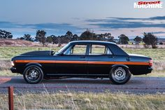 Seven-second street-driven 1971 Ford XY Fairmont - Sport Cars, Race Cars, Australian Muscle Cars, Belt Drive, Ford Falcon, Sump, Twin Turbo, Falcons, Audio System