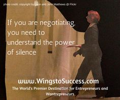 How to properly do negotiation Entrepreneurship, Photo Credit, Insight, Wings, Success, Movie Posters, Film Poster, Feathers, Film Posters
