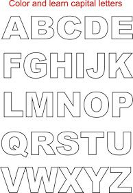 We have thus come up with unique alphabet coloring pages for kids which can be an ideal way to help children recognize alphabets. Capital letters coloring printable page for kids printable alphabet coloring worksheets provided within this article thus . Alphabet Cursif, Free Printable Alphabet Letters, Capital Alphabet, Alphabet Templates, Alphabet Writing, Alphabet Stencils, Free Printable Letter Templates, Alphabet Letters To Print, Bubble Letter Fonts