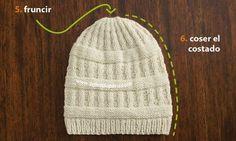 Talla para un adulto. Materiales necesarios  200g de lana Peru de Katia 868e6aea24d