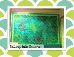 Sailing Into Second: Ocean Themed Classroom Ocean Room, Second Grade, Sailing, Classroom, Blog, Candle, Class Room, Blogging, 2nd Grades