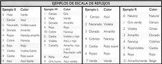 GUÍA PRÁCTICA PARA MATIZAR DECOLORACIONES. ~ Bella en Casa.com
