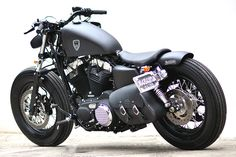 Studio Motor Custom Harley-Davidson Sportster Forty-Eight - autoevolution