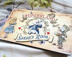 Alice in Wonderland Decoration Mad Hatter par GiraffeandCustard