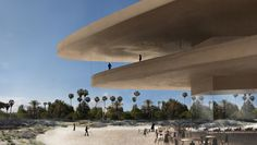 New Renderings Show Major Changes to Zumthor's LACMA Redesign,© Atelier Peter Zumthor